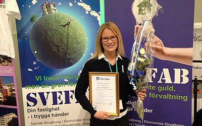 SVEFAB erhöll miljödiplom