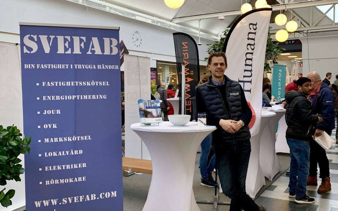 SVEFAB deltar på jobbmässan i Åkersberga